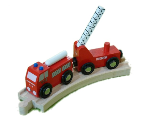Kolejowa straż pożarna - Kolejkowy Zakątek
