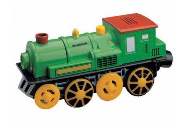 Pociąg górski - zielona lokomotywa elektryczna - Maxim enterprise inc