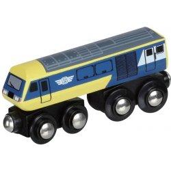 Ekspresowa lokomotywa żółto-niebieska - Maxim enterprise inc