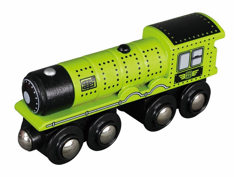 Wielki parowóz - zielony z podwójnym zawieszeniem - Maxim enterprise inc