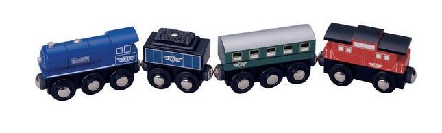 Pociąg osobowy z parowozem - Maxim enterprise inc