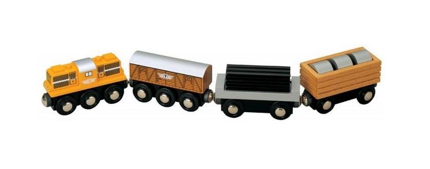 Pociąg towarowy z wagonem z walcami - Maxim enterprise inc