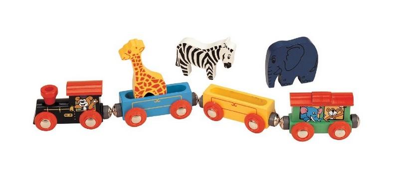 Pociąg zwierzątek safari z żyrafą - Maxim enterprise inc