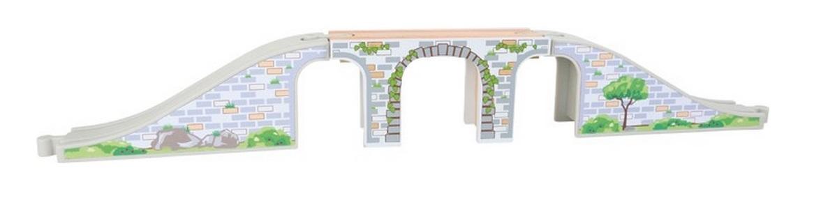 Długi, trzyelementowy most kolejowy - Maxim enterprise inc