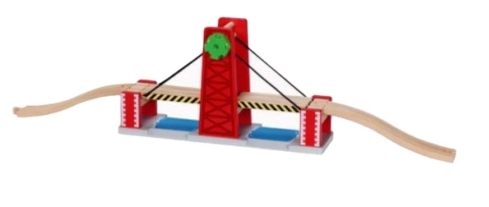 Wiszący, podwójny most zwodzony dla pociągów - Maxim enterprise inc