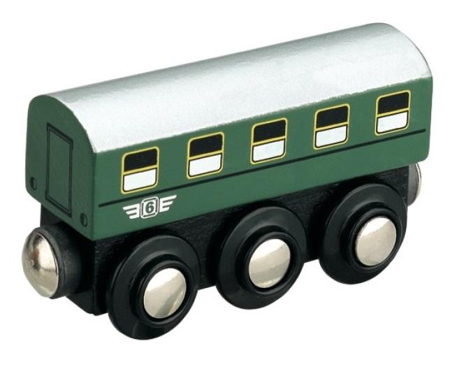 Klasyczny wagon pasażerski PKP, drewniany - Maxim enterprise inc