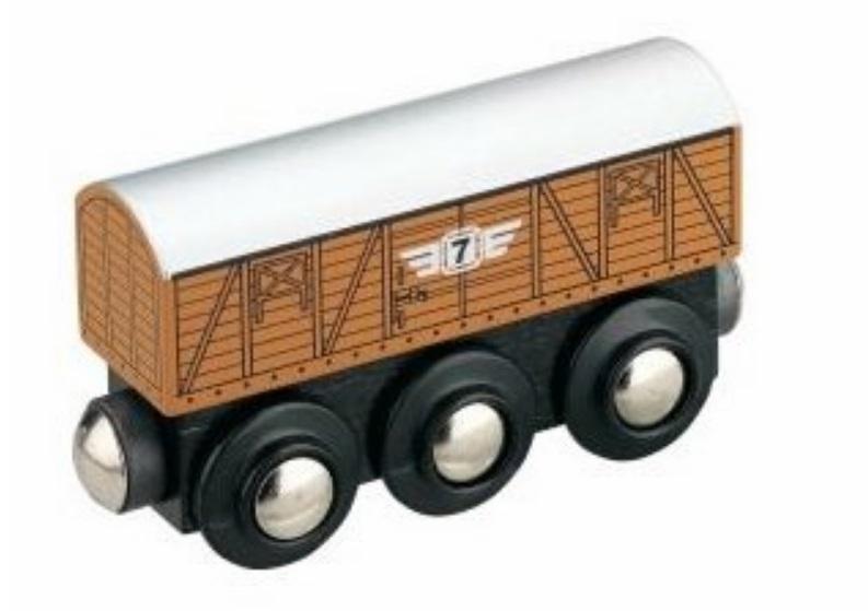 Wagon towarowy - drewniany - Maxim enterprise inc