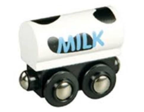 Wagon z mlekiem - cysterna - Maxim enterprise inc