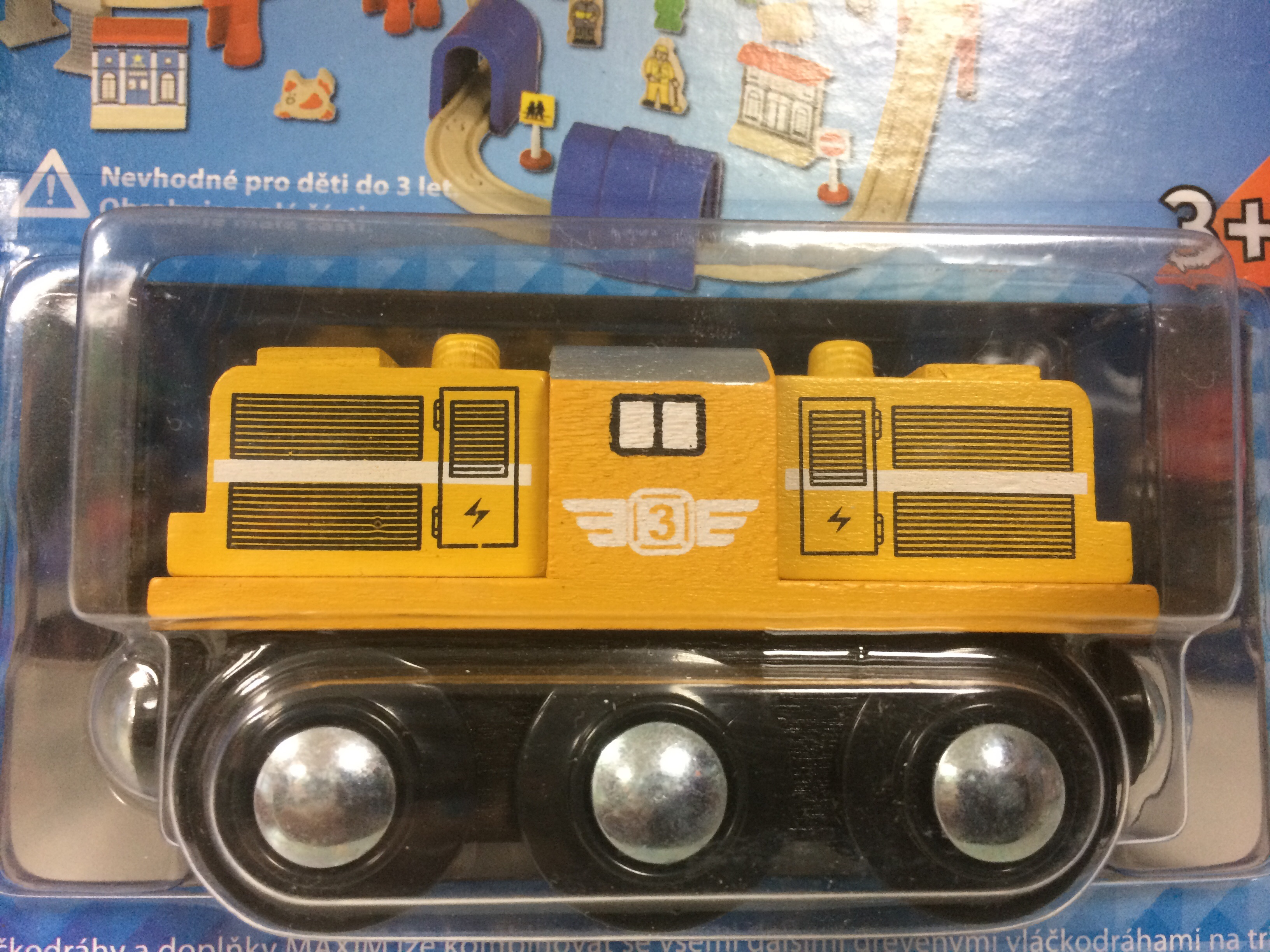 Lokomotywa manewrowa żółta - Maxim enterprise inc