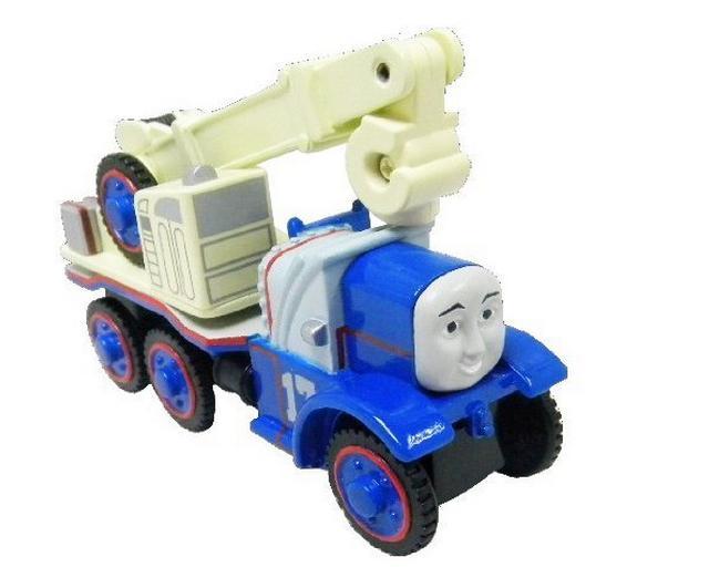 Ciężarówka z dźwigiem Kelly Kasia z serii Tomek i przyjaciele - Tomek i przyjaciele