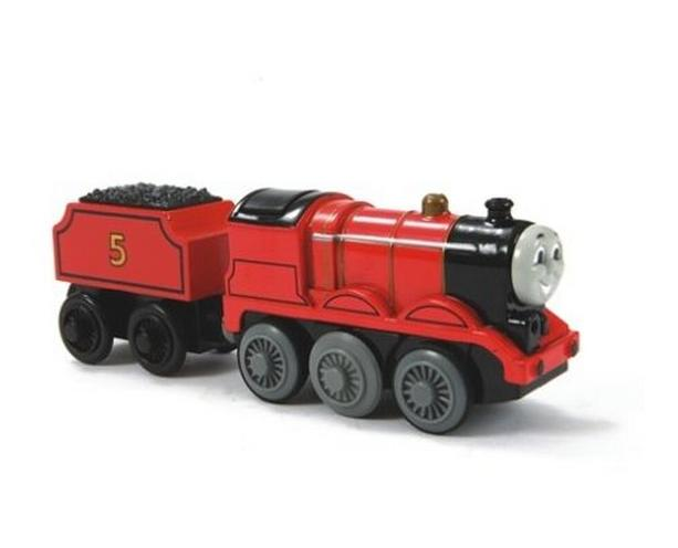 Z wagonikiem węgla - Kuba - lokomotywa elektryczna - Tomek i przyjaciele