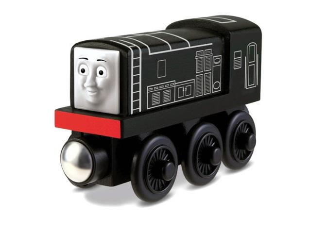 Czarny Diesel od Tomka - Tomek i przyjaciele