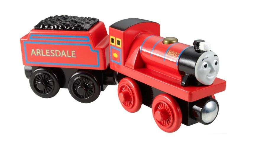 Michał, miniaturowa lokomotywa, Mike - Tomek i przyjaciele