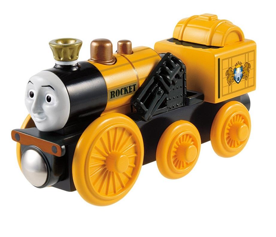 Rakieta - pierwsza lokomotywa Stephen   - Tomek i przyjaciele