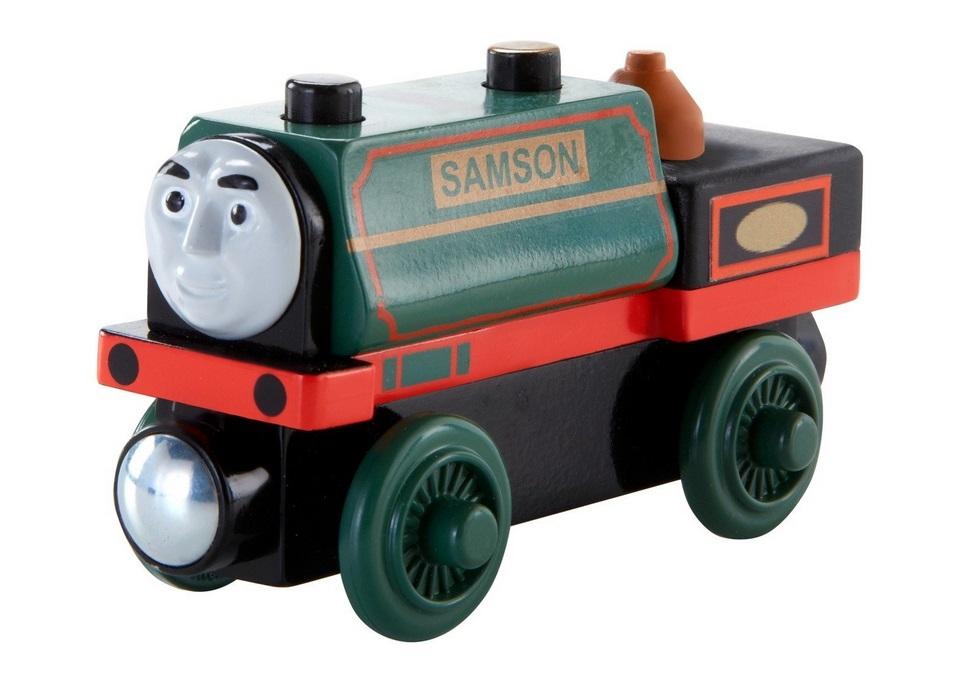 Samson - parowóz przyjaciel Tomka - Tomek i przyjaciele
