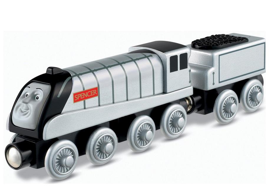 Szymek (Spencer) szybka lokomotywa z serialu Tomek i przyjaciele - Tomek i przyjaciele