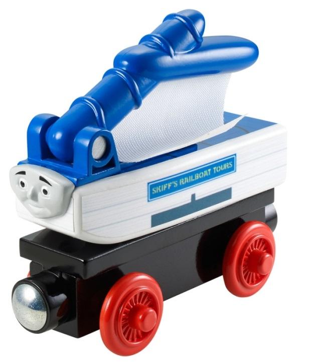Szyper wagonik z żaglówką, Skiff - Tomek i przyjaciele