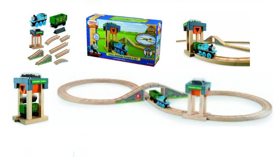 Załadownia węgla Tomka z trasą kolejową - Tomek i przyjaciele