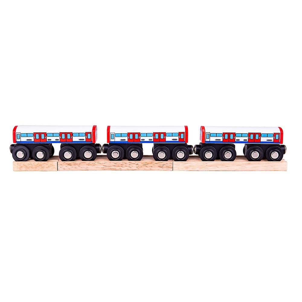 Czerwona lokomotywa Jack - Bigjigs