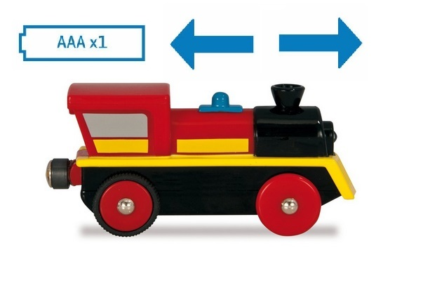 Doskonała lokomotywa elektryczna - żółta - Eichhorn