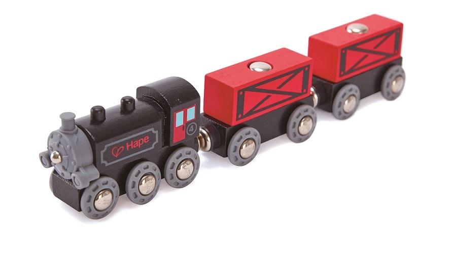 Pociąg ze skrzyniami, magnetyczny - Hape