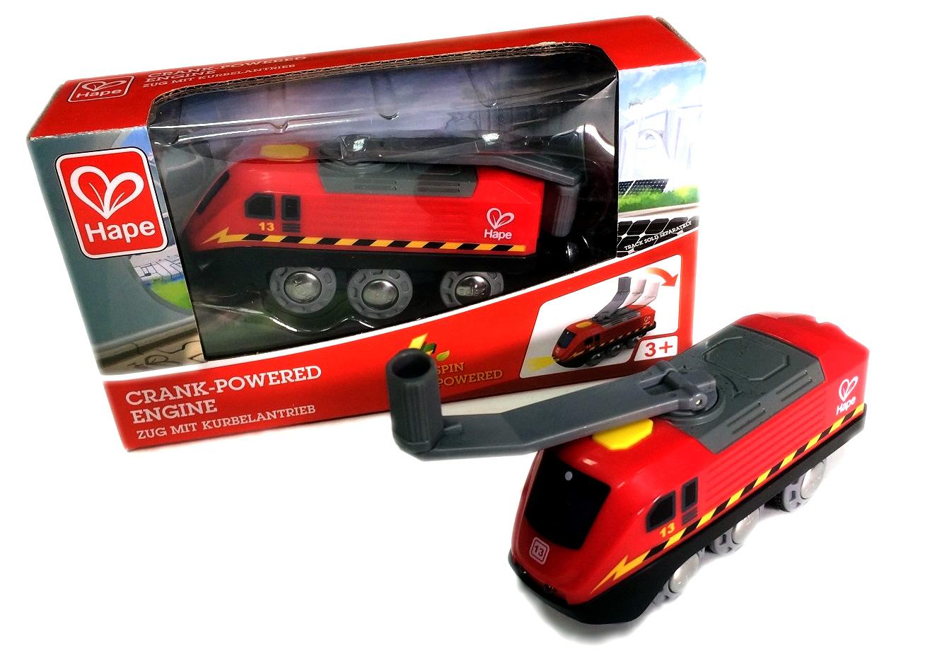 Ekologiczna lokomotywa jeżdżąca z ładowarką - Hape