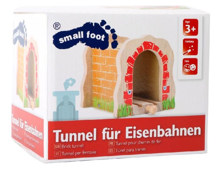 Tunel ozdobny Small foot z torem pojedynczym - Small foot