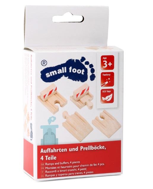 Zakończenia torów drewnianych Small foot - Small foot