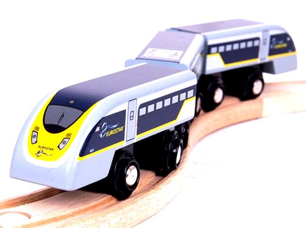 Pendolino Eurostar Szybki pociąg - Bigjigs