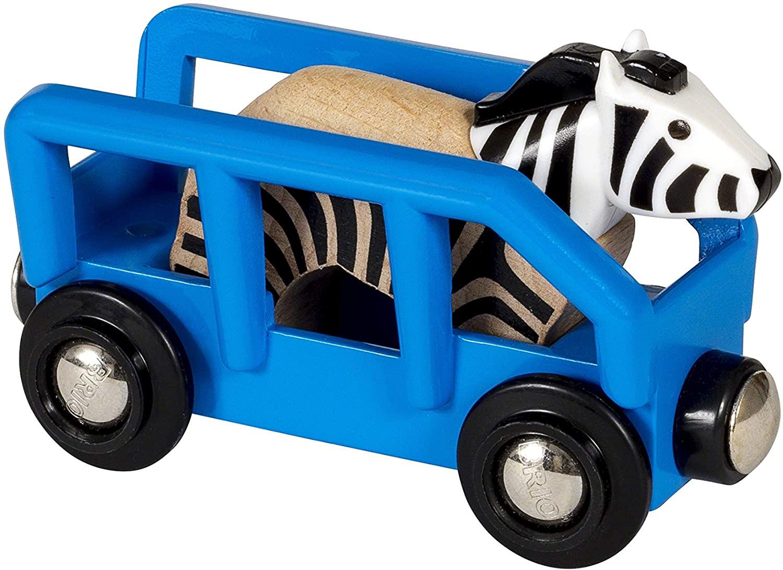 Wagon z zebrą - Brio