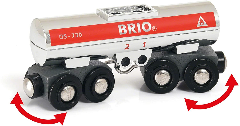 Cysterna kolejowa na ruchomym zawieszeniu - Brio