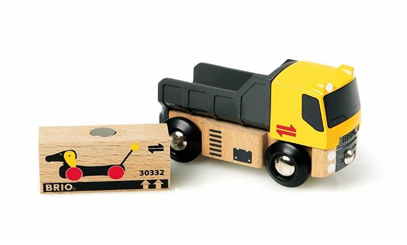Ciężarówka z ładunkiem do dźwigów magnetycznych - Brio